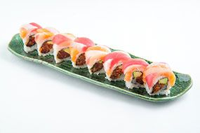 Hawaiian Rainbow Roll