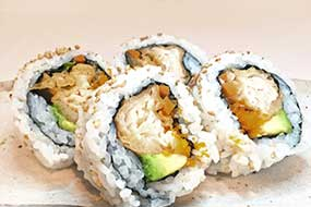 Salmon Tempura Roll (small)
