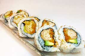 Salmon Tempura Roll (large)
